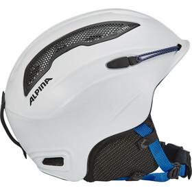 Alpina Snow Tour Helmet white-blue matt